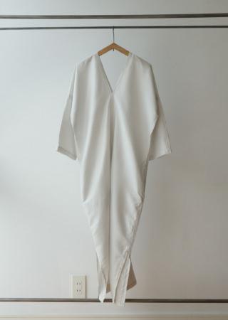 タイシルク カレンドレス- 七分袖-