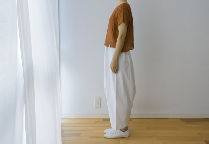 siz=ONE/col=WHT [Tops]参考商品/reference item (model=160cm/5'2'')