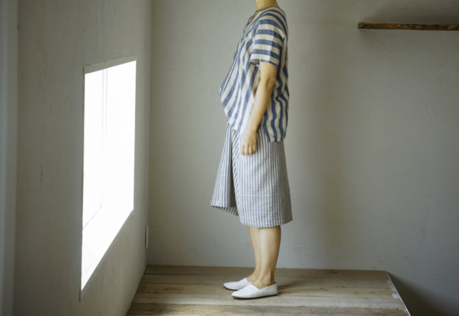 siz=ONE/col=ONE [Tops]IR-B-192TN5904(Cotton&Linen Karen Shirts 5904)/siz=ONE/col=ONE (model=160cm/5'2'')