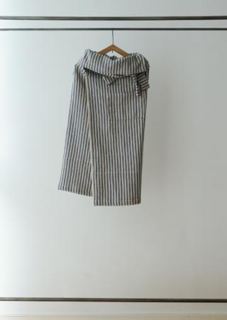 リネンコットン サロンスタイル スカート(5902)