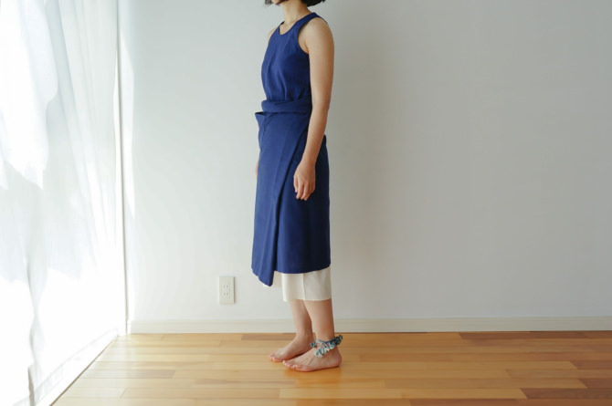 siz=ONE/col=NVY [Tops]TR-TT-212NS(Tunk Top)/siz=S/col=NVY [Bottoms]参考商品/reference item (model=160cm/5'2'')