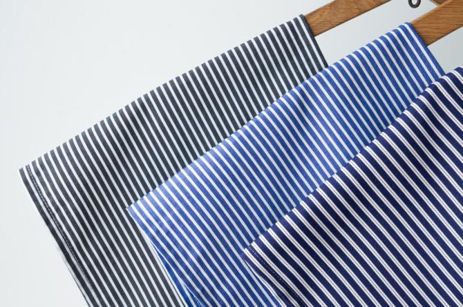 (Left) col=BLK / (Center) col=NVY / (Right) col=*(Blue&White Stripe)