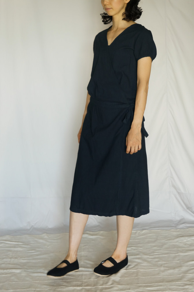 col.紺(NAVY) ,size.S, model=163cm