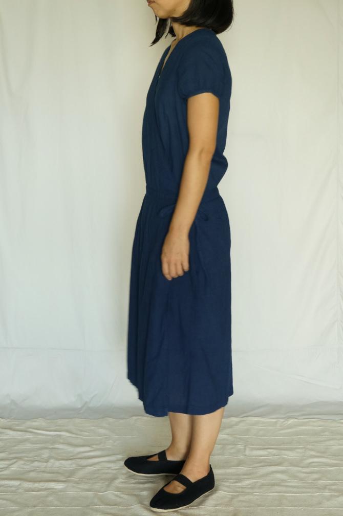 col.群青(LAPIS),size.M, model=160cm(5'2
