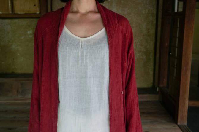 col.赤(RED) | model=160cm