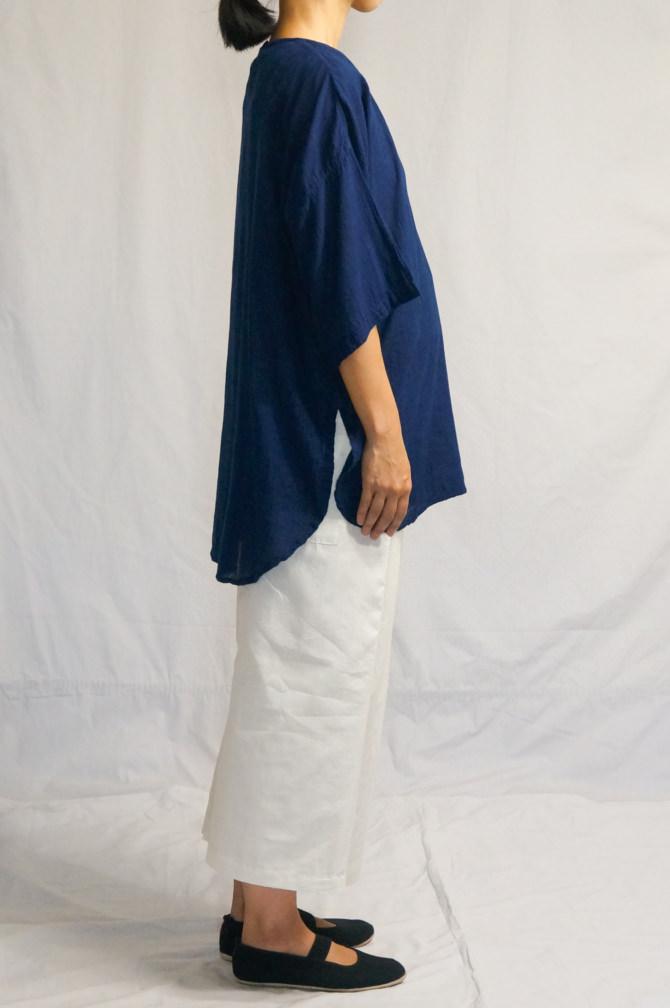 col.群青(LAPIS), model=160cm(5'2