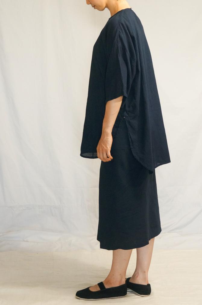 col.紺(NAVY) , model=163cm(5'3