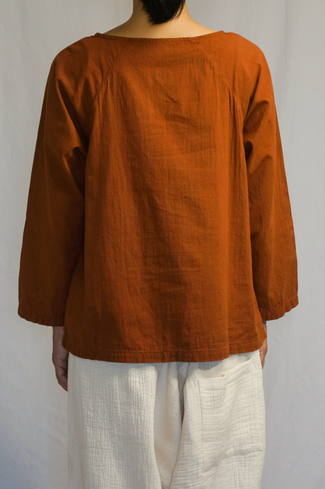col.黄土色(OCHER) ,model=160cm