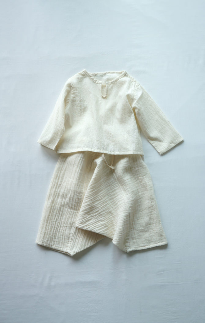 [Bottoms]col=NTL [Tops]IR-BB-147NS(NS Cotton Baby's Blouse)/siz=ONE/col=NTL