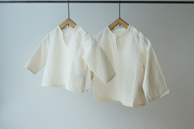(Left)col=NTL / (Right)IR-KB-147NS(NS Cotton Kid's Blouse)/size=ONE/col=NTL
