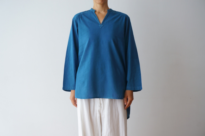 col.青(BLUE),size.M, model=160cm