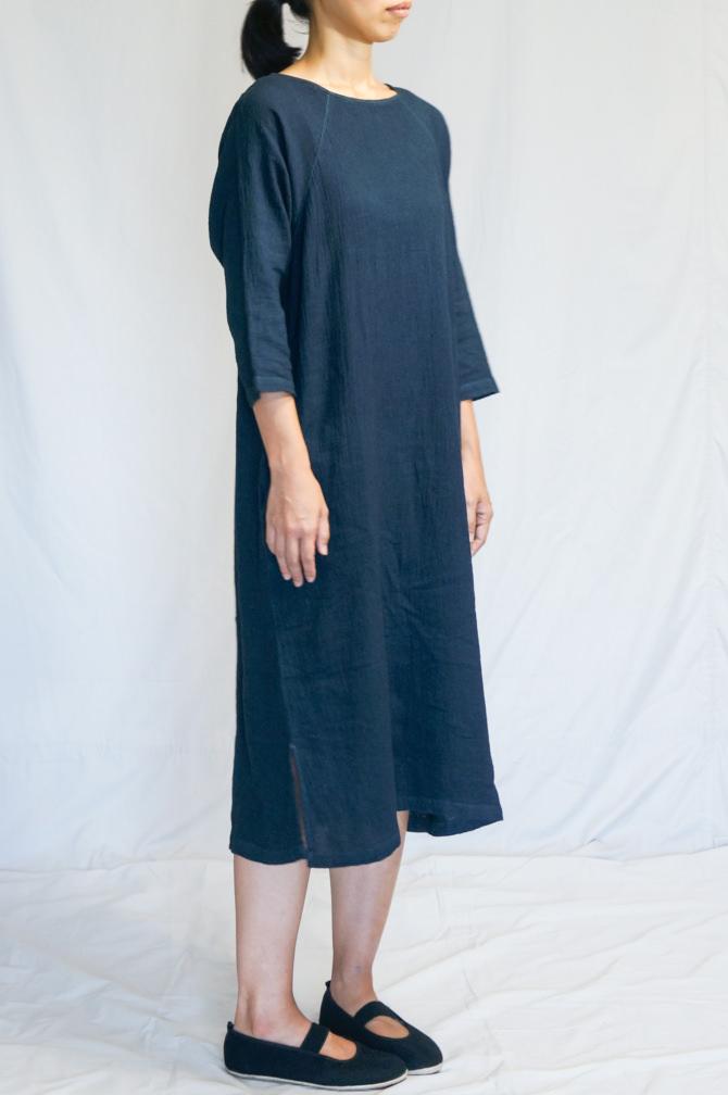 col. 紺(NAVY) | model= 160cm