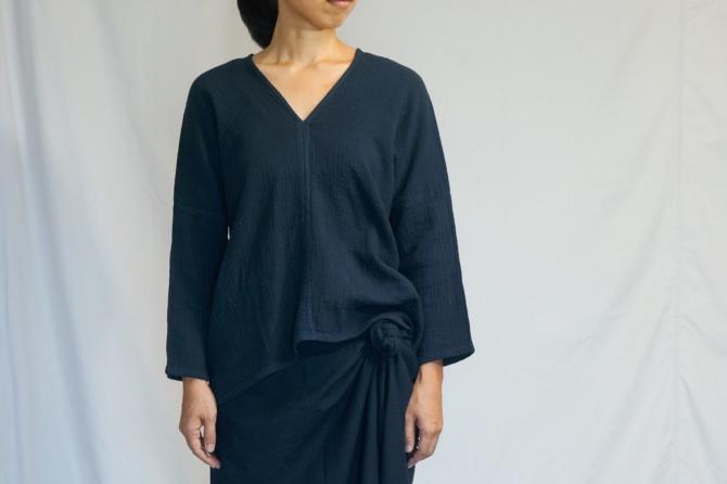 col=紺(NAVY) | model=160cm