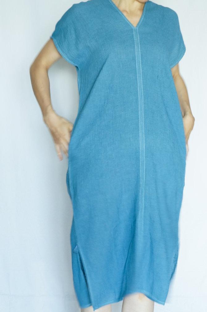 col.青(BLUE),model=163cm
