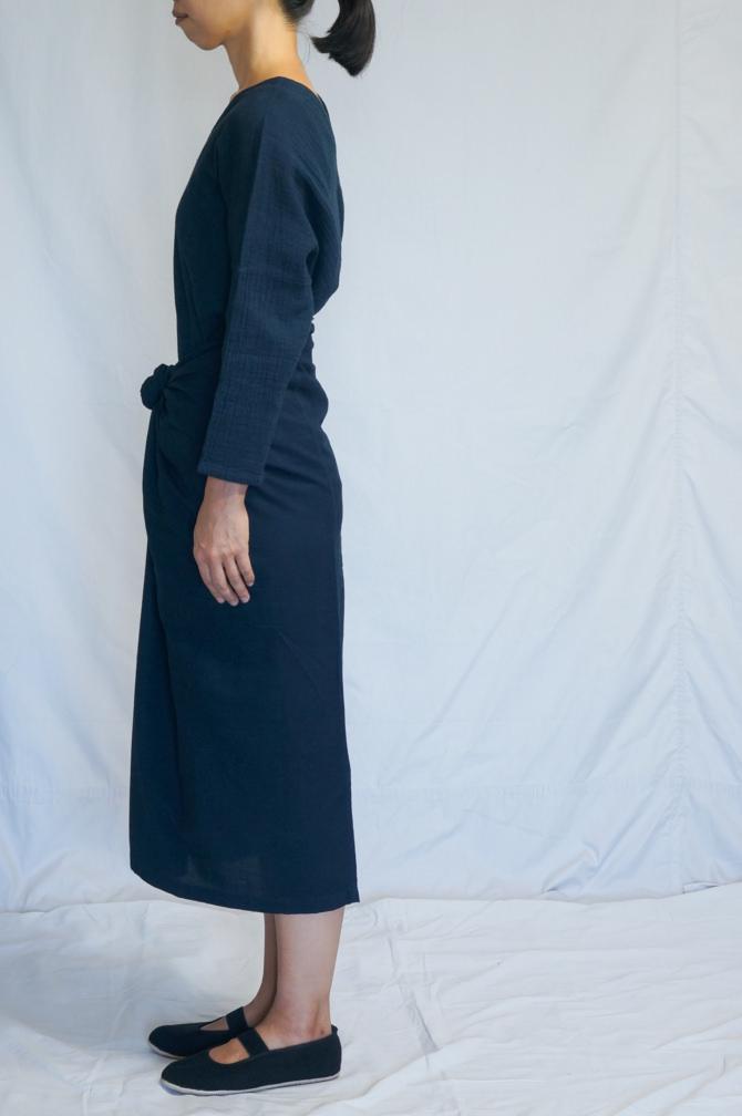 col.紺(NAVY),model=160cm