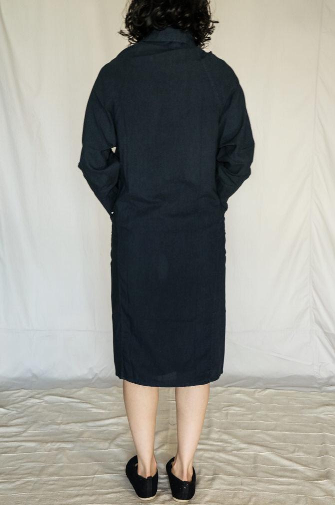 col. 紺(NAVY) | model=164cm