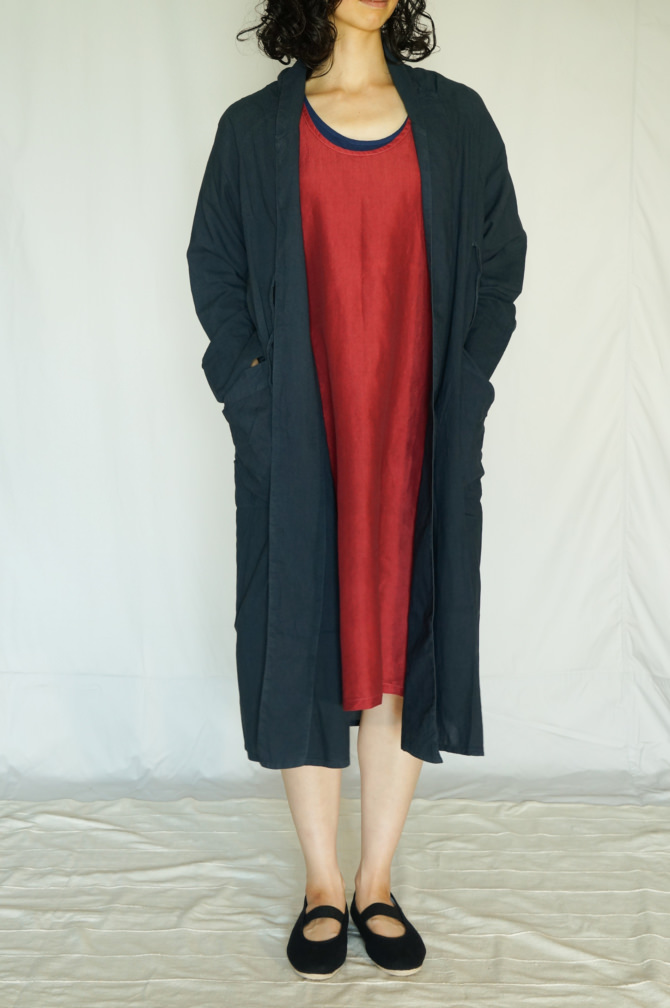 col.赤(RED) ,size.M , model=163cm(5'3