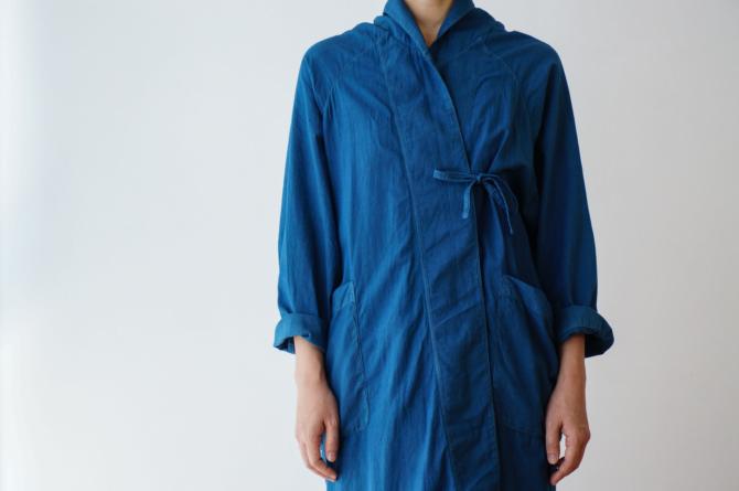 col. 青(BLUE) | model=160cm