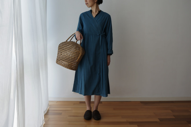 col.青(BLUE),size.S, model=160cm