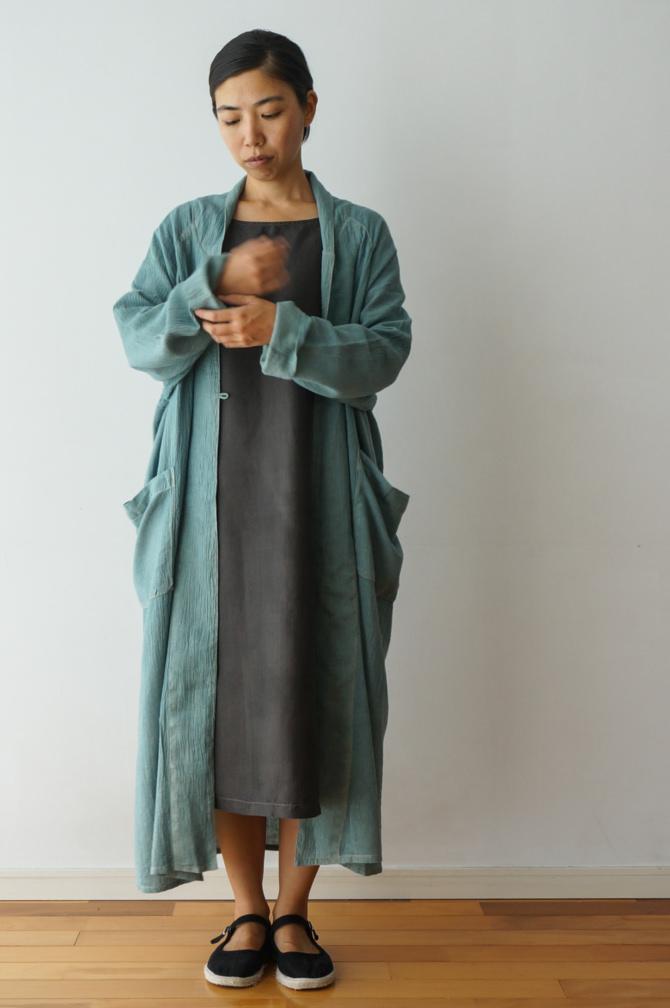 col. チャコール(BROWN) | model=160cm