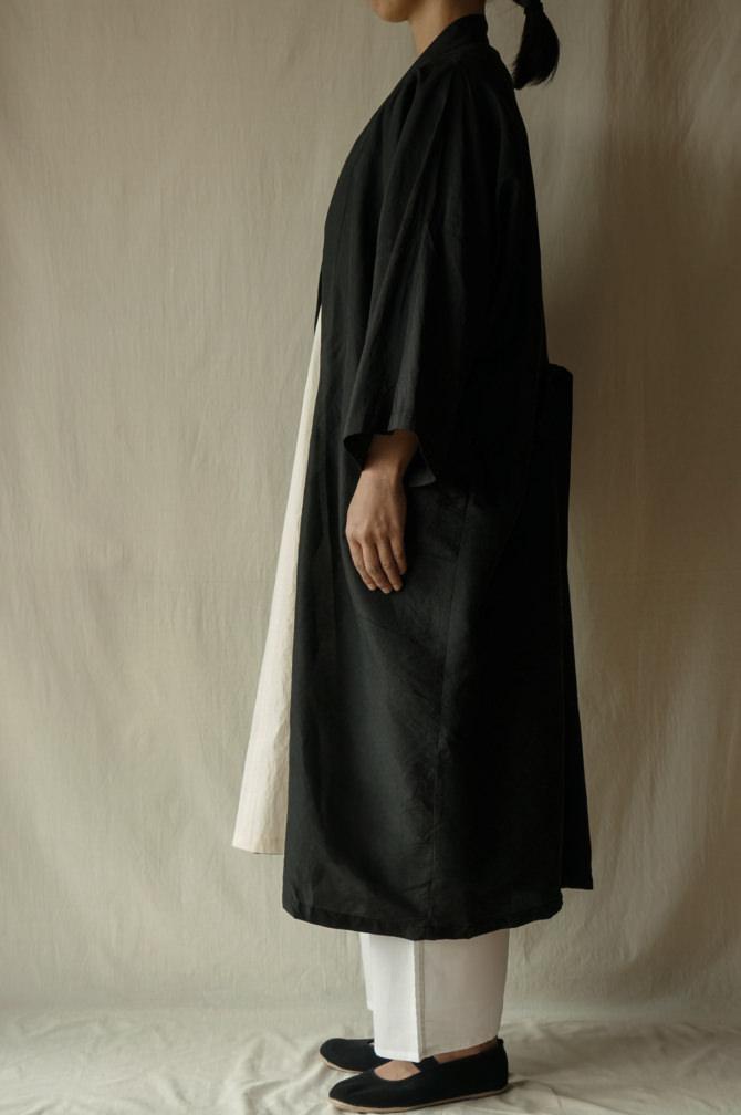 col.BLK | model=160cm ※Pants=IR-P-196'NS WHT size.M