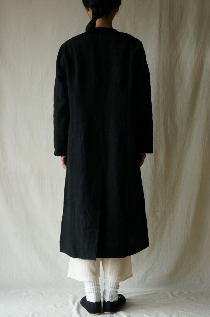 col.BLK size.S | model=160cm ※Pants=IR-P-196'NS col.NTL size.S