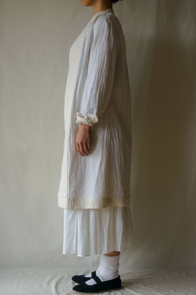 Inside Out ( Double Face Cotton) : 裏表でも着用出来ます。|model:160cm