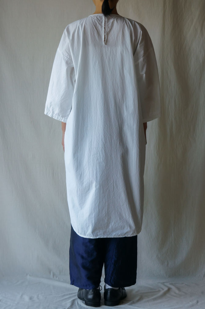 col.WHT |model=160cm ※Pants=IR-P-196'TS (Thai Silk New YAO Pants Ⅲ)col.NVY,size.M