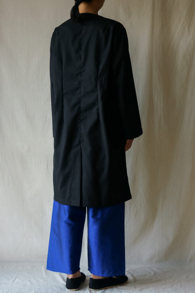col.BLK size.M | model=160cm ※Pants= IR-P-228TS col.BLU,size.S