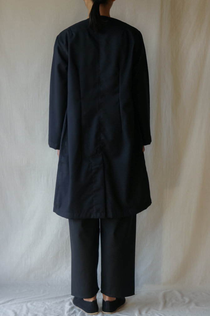 col.NVY size.S | model=160cm ※Pants= IR-P-228CW col.BLK,size.S
