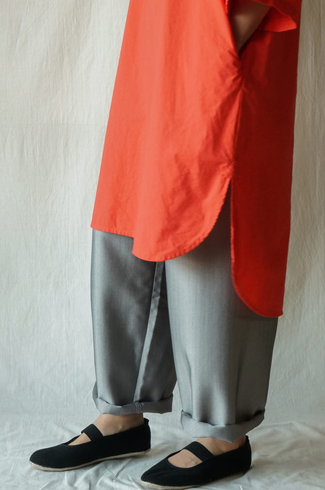 col.GRY size.M | model=160cm ※Dress = IR-D-236*CT