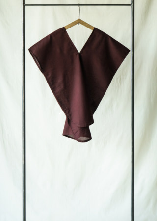 コットン ツバメシャツ (裾ラウンド)