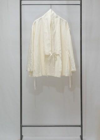 リネン タイルー族 ジャケット