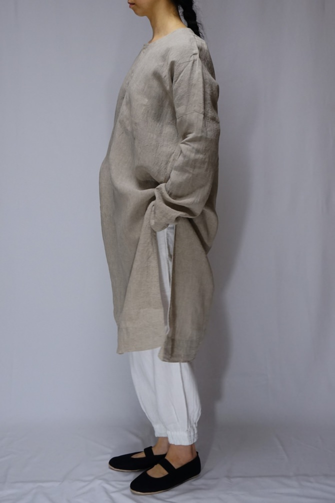 col.ONE(NTL) /size.L | model=162cm ※Pants...#IR-P-242WG,col.WHT,size.S