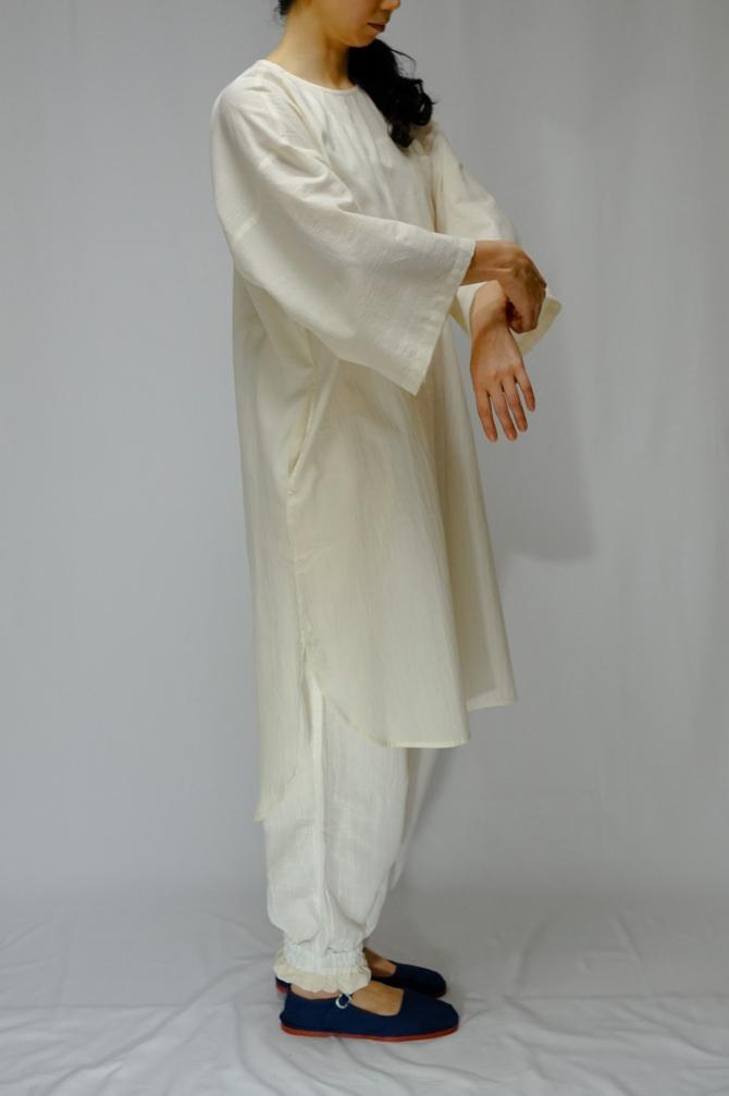 col.NTL | model=162cm ※Pants...#IR-P-242NJ16,col.WHT,size.L