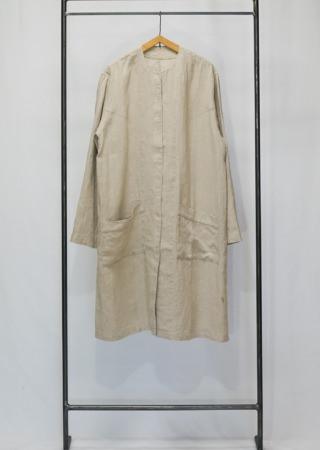 リネン シングルジャケット -ミドル-