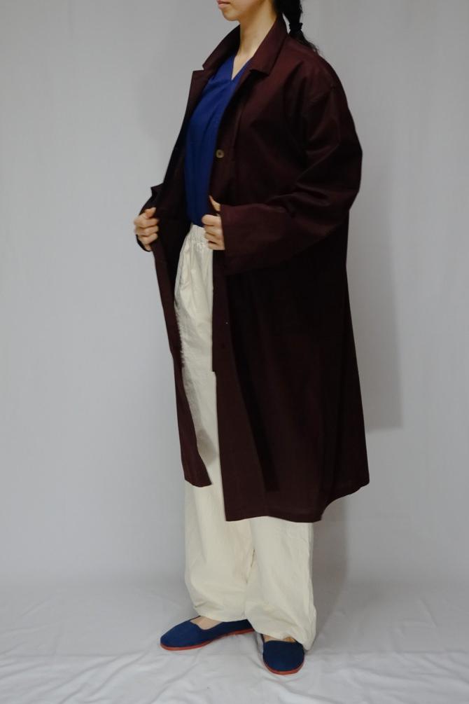 col.NTL / size.M | model=162cm ※Jacket…#IR-C-249CT,col.W.RED,size.M