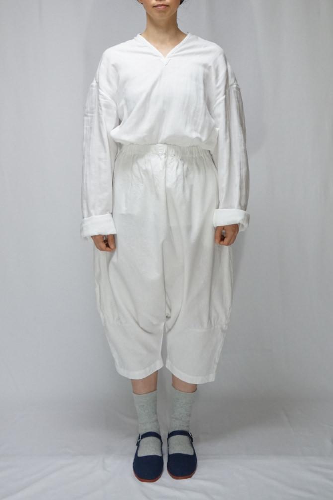 col.WHT | model=162cm ※Pants...#IR-P-252CMCT,col.WHT, size.S
