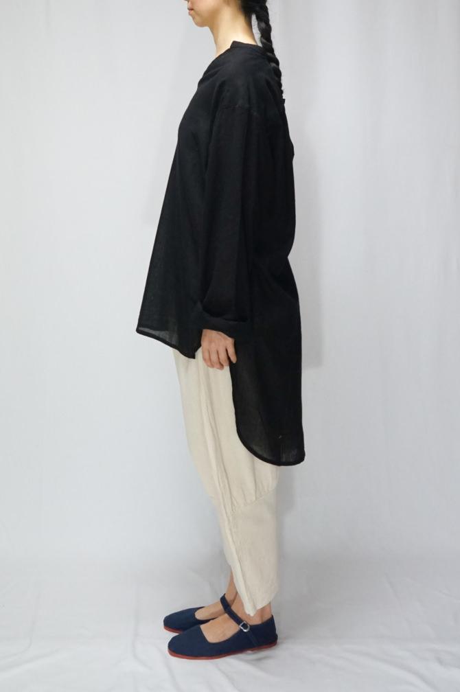 col.BLK | model=162cm ※Pants...#IR-P-252CMCT,col.NTL,size.L