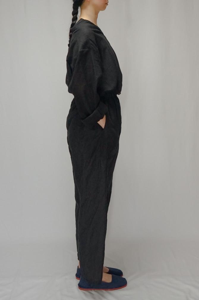 col.BLK / size.M   model=162cm ※Big Shirts...#IR-B-246SC,col.BLK
